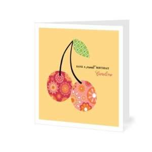 Birthday Greeting Cards   Fresh Cherries By Pinkerton Design