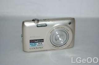 Nikon COOLPIX S4100 Digital Camera 14.0MP 5x Zoom