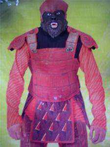 Halloween Costume, Planet of the Apes Gorilla Warrior