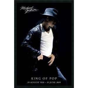 Michael Jackson   King of Pop Framed with Gel Coated