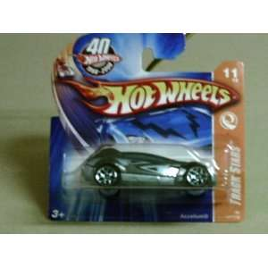 2008 Hot Wheels Track Stars Blue Accelium w/ Blue Y5s on