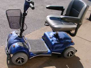 Dalton 4 Wheel Electric Power Mobility Scooter Wheelchair w Battery