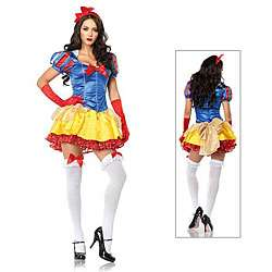 Leg Avenue 2 piece Classic Snow White Costume