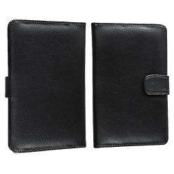 Black Leather Case for  Kindle Fire