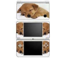 Animal Sleeping Puppy Nintendo DSi XL Decal Skin