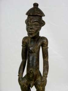 Stunning Old African Tribal Art SENUFO Ancestor Figure Collectible