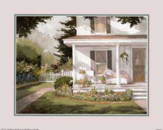 Plants on Open Porch Prints by Steve Zazenski at AllPosters