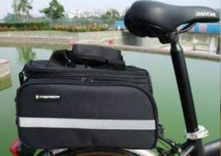 Multi Cycling Bike Travel Bicycle Rear Seat Pannier shoulder Bag Pouch