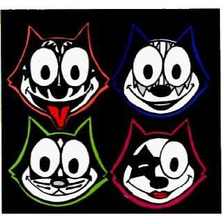 Kiss   Cat Parody   Sticker / Decal Automotive