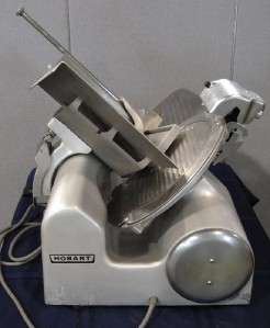 Hobart 1812 Manual Meat & Cheese Slicer with Sharpener