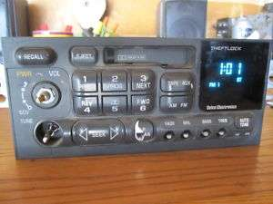 95   02 Chevy Blazer Camaro Jimmy Radio Stereo 16232091