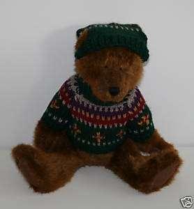 NEW Boyds Boyds Bear Plush Waitsfield Bear Sweater
