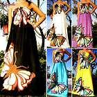 NEW Butterfly Strapless Summer Women Long Maxi dress Size Sz M   XXL 6