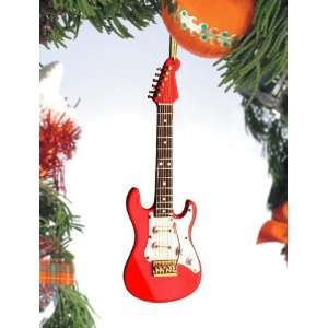 Electric Guitar Red & White by Broadway Gifts Home & Kitchen