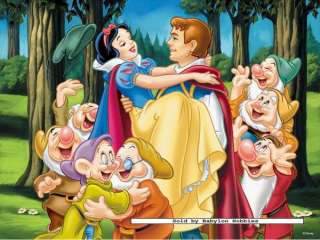 200 pieces jigsaw puzzle Disney   Snow White and her prince (127153