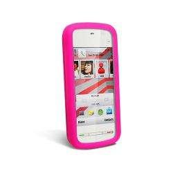 Hot Pink Skin Case for Nokia 5230 XpressMusic
