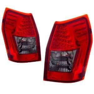 2005 2008 Dodge Magnum KS LED Red/Smoke Tail Lights Automotive