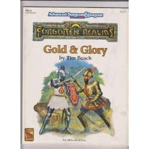 Gold & Glory (FR15 Advanced Dungeons & Dragons, 2nd