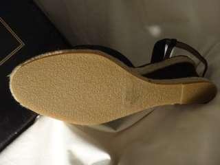 NEW Victorias Secret COLIN STUART Criss Cross Wedge Sandals   Size 8