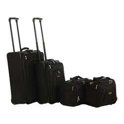 Delsey Helium Alliance 4 piece Lightweight Luggage Set