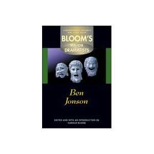 Ben Jonson (Blooms Major Dramatists) (9780791063590) Harold Bloom