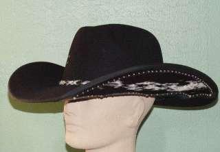 FELT SHORT CROWN CHISHOLM COWBOY WESTERN HAT 733877122123