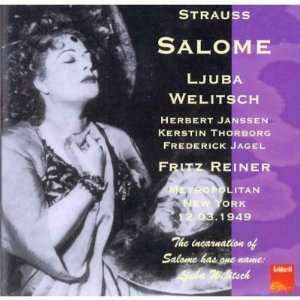 Strauss, Richard Salome [New York March 12, 1949