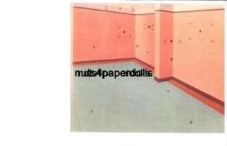 VINTGE MY MODEL HOUSE PAPER DOLLS LAZER RPRO ORG SZ