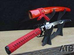 39.4 Black Bat Chinese Tai Chi Sword Concave Blade