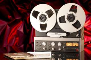ReVox B77 MkII Reel to Reel Tape Deck Player Hi Speed ½ Half Track B