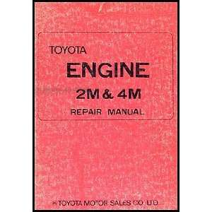 1971 1974 Toyota Crown & Mark II Engine Repair Shop Manual Original No