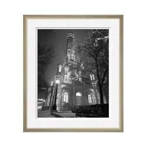 Water Tower Chicago Illinois Framed Giclee Print: Home