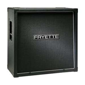 200W 4x12 Guitar Speaker Cabinet (Black Slant) Musical Instruments