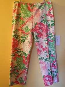 Sz 12   RALPH LAUREN   Colorful Floral Print Pants Jeans Capris