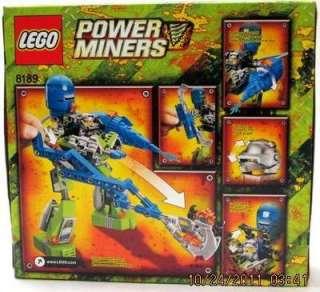 LEGO Power Miners Set New 183 pcs Set # 8189 Magma Mech Building Toy