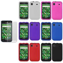 Samsung Galaxy S 4G Silicone Case with Screen Guard