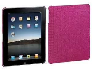 Hot Pink Crystal Diamond Bling Case Cover Backplate for Apple iPad 1