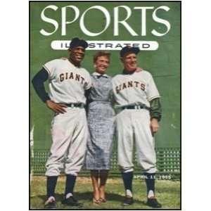 com Original April 11 1955 Sports Illustrated w card insert   Sports