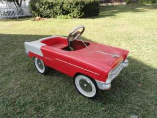 VINTAGE Original 1955 CHEVY Style PEDAL CAR
