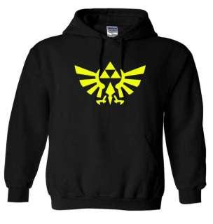 LEGEND of ZELDA Logo Hoodie,Hoody, Hooded Sweatshirt sizes S 5XL