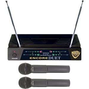 Encore Duet HT 2 Channel VHF Wireless Dual Microphone