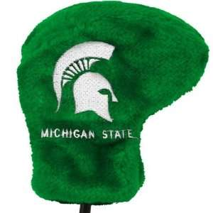 Michigan State Spartans Green Deluxe Putter Cover  Sports