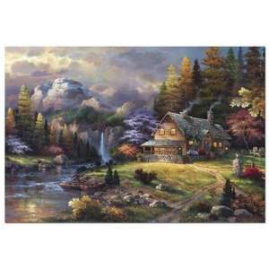 4,000 Piece Puzzle   The World Map Toys & Games