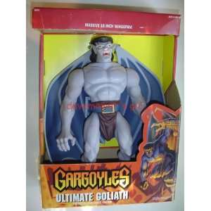 : Gargoyles Ultimate Goliath Massive 15 Action Figure: Toys & Games
