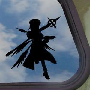 Magical Girl Lyrical Black Decal Nanoha Yagami Hayate