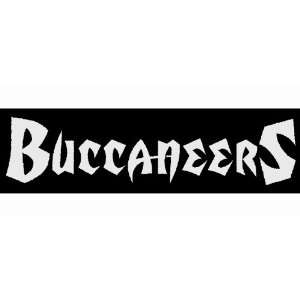 Tampa Bay Buccaneers Car Window DECAL Wall Sticker Text