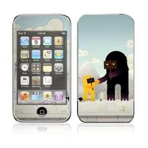 Apple iPod Touch (1st Gen) Vinyl Decal Sticker Skin   Snow