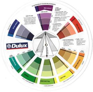 ICI Dulux Color Wheel,Dulux Paint Colour Chart,Akzo Nobel Home