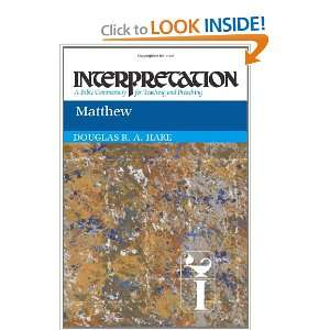 Matthew Interpretation A Bible Commentary for Teaching