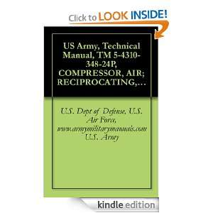 US Army, Technical Manual, TM 5 4310 348 24P, COMPRESSOR, AIR